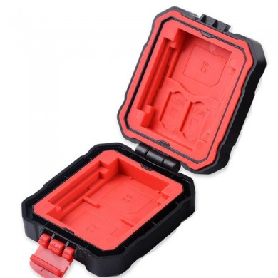 LYNCA KH-5 9 Slots Large Capacity Waterproof Memory Card TF Card Collection Case Storage Box