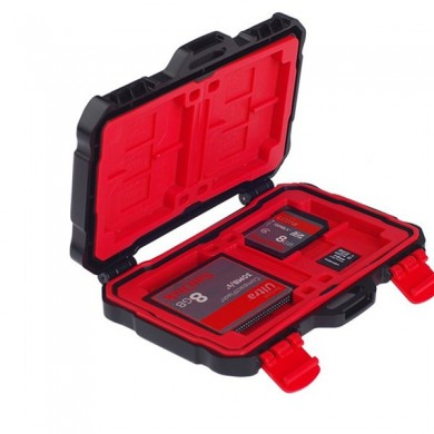 LYNCA KH-10 24 Slots Large Capacity Waterproof Memory Card TF Card Collection Case Storage Box