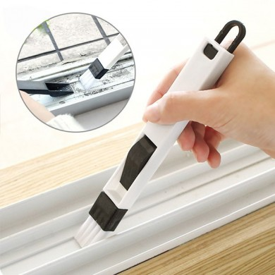 Honana HN-Q1 Window Recess Groove Clean Brush Dustpan Keyboard Drawer Crevice Wash Cleaning Tools