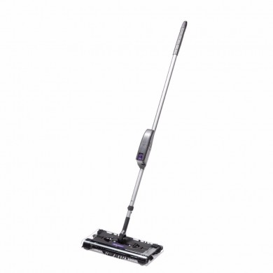 Cordless Swivel Sweeper Electronic Spin Broom Hand Push Sweeper Home Cleaning Tool