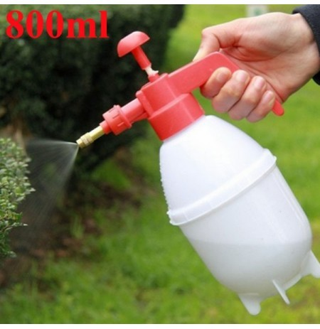 800ml Portable Pressure Watering Can Garden Plant Spray Bottle