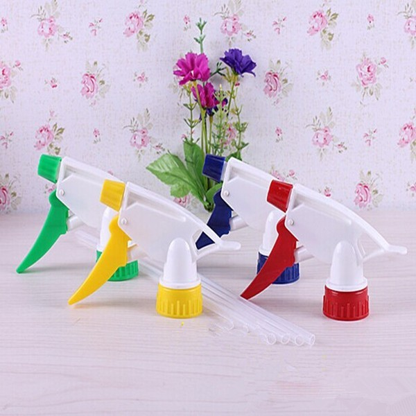 Garden Spray Bottle Plastic Nozzle Hand Pressure Spray-head