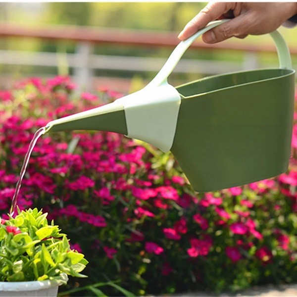 1.2L Garden PP Plastic Long Spout Flower Watering Can Pot Bottle