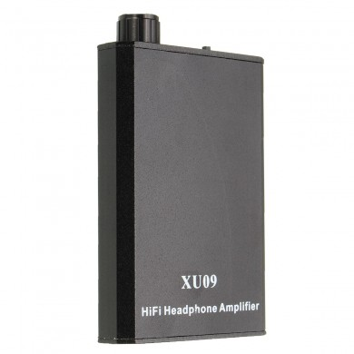 XU09 Portable Audio HIFI Headphone Amplifier Earphone AMP With Audio Usb-cables