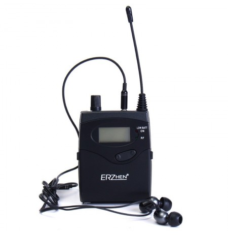 ERZhen In-Ear ricevitore per sistema di palcoscenico wireless professionale wireless