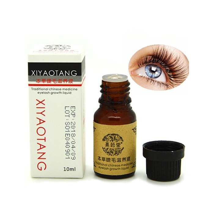 Chinese Herbal Medicine Eyelash Enhancer Eyebrow Hair Growth Liquid Serum