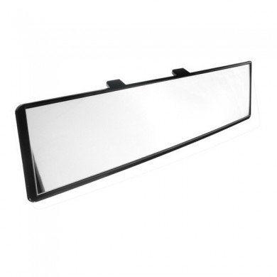 Car Truck 300mm Interior Rear View Mirror Anti Glare Flat Clip