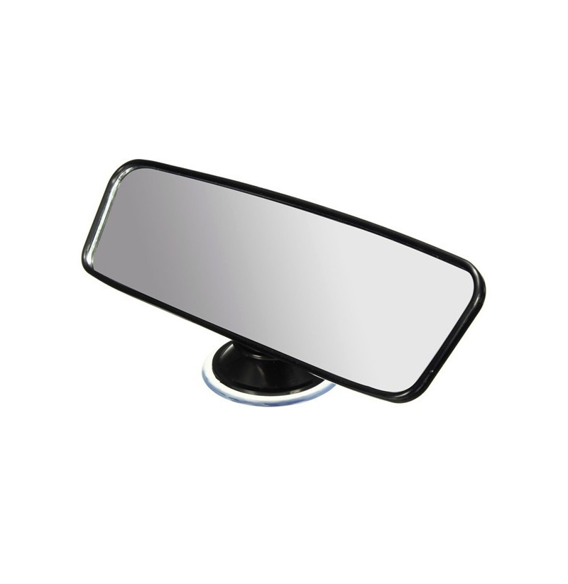 Universal 200mm Wide angle Car Care Interior Rear View Mirror With Suction