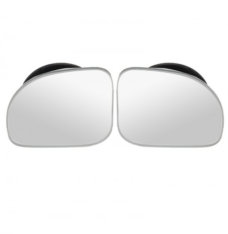 2PCS ajustável Car Convex Blind Spot Side Rear View Mirror Wide Angle