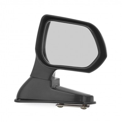 Black Wide Angle Rear Mirrors Car Blind Spot Square Side View Flat Mirror