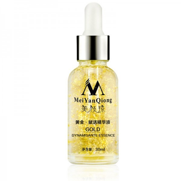 MeiYanQiong Pure 24K Gold Essence Anti Wrinkle Face Skin Care Anti Aging Collagen Whiten Moisturizer