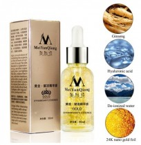 MeiYanQiong Pure 24K Gold Essence Anti Cuidado de la Piel de Arrugas Anti Aging Collagen Whiten Moisturizer