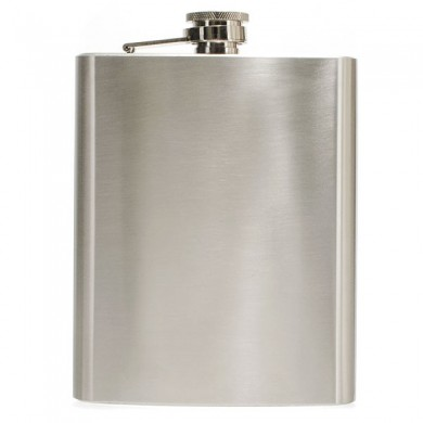 Hip Liquor Alcohol Flask 18 oz With Stainless Steel Screw Cap Portable Bar Tools