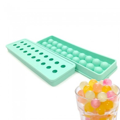 KCASA KC-ON430 Mini Silicone Ice Ball Ice Tray Cubes 20 Cavities DIY Pudding Jelly Chocolate Mold