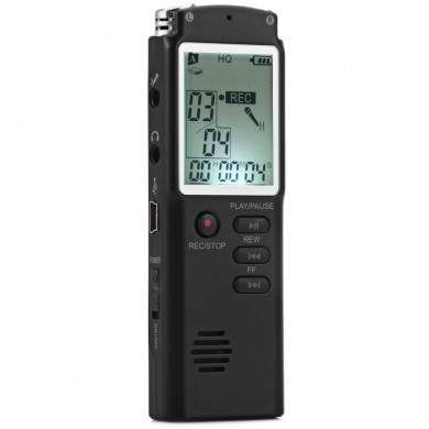 T60 Mini 8GB Low Noise Digital Audio Voice Recorder MP3 Player