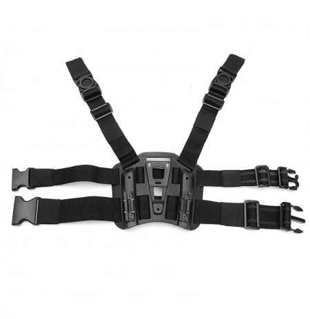 Tactical Drop Leg Thigh Rig Holster Plataforma Panel Placa Para SERPA CQC Holsters