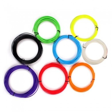 8 Colors 3D Printer ABS Filament For 3D Printing Pen 1.75mm
