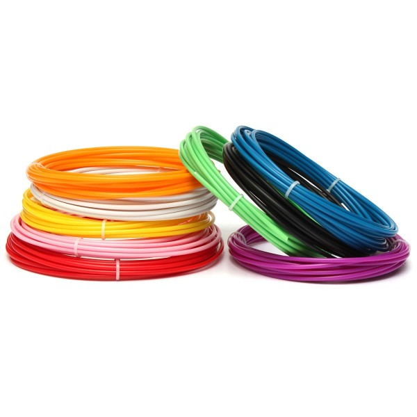 5 Meter 3MM ABS 3D Printer Filament For Mendel Printrbot Reprap Prusa