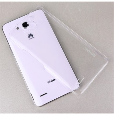 BEPAK Ultra Thin Crystal Invisible Hard Case Cover For Huawei Honor 3X