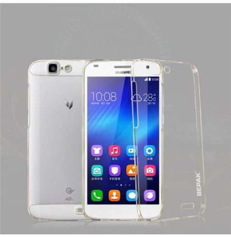 BEPAK Clear Transparent Protective Back Case For Huawei C199