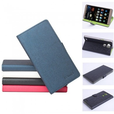 Hit Color Flip PU Leather Protective Case For Huawei Mate 7