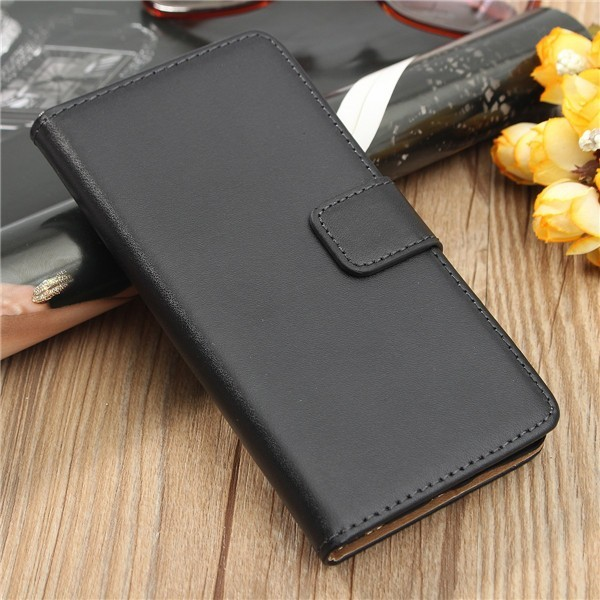 Leather Flip Wallet Card Case Magnetic Clip Stand Cover For Huawei P9
