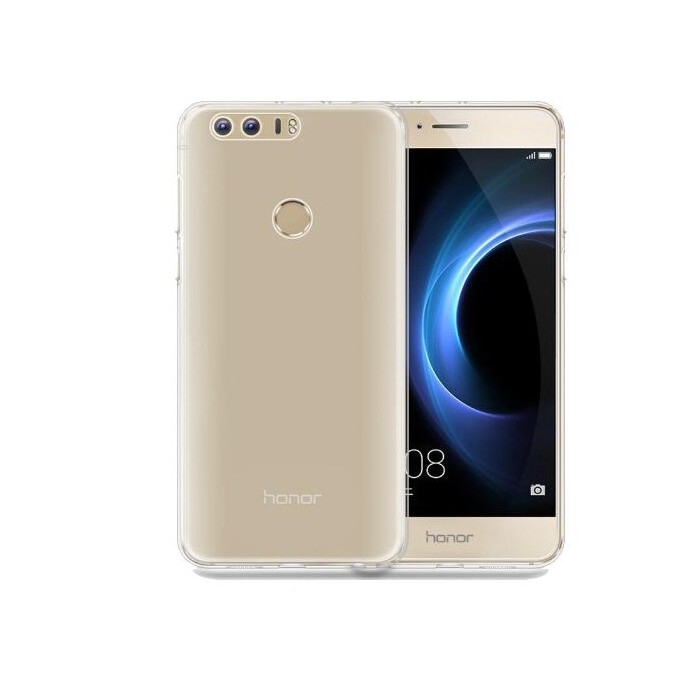 Transparent Ultra Thin Soft TPU Protective Back Cover Case For Huawei Honor 8