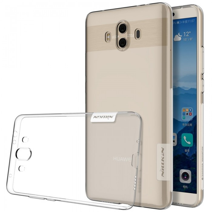 NILLKIN Ultra Thin Transparent Clear Soft TPU Protective Phone Case For HUAWEI Mate 10
