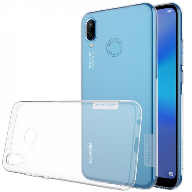 NILLKIN Anti-slip Transparent Soft TPU Back Cover Protective Case for Huawei Nova 3E P20 Lite