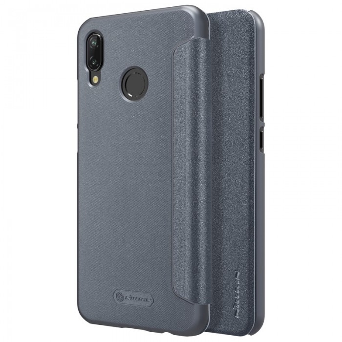 NILLKIN Shock-proof Flip PU Leather Full Body Cover Protective Case for Huawei Nova 3E P20 Lite