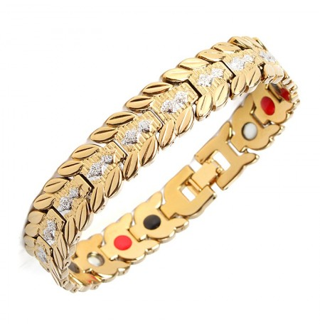 Health Magnetic Therapy Bracelet Wristband Jewelry For Men