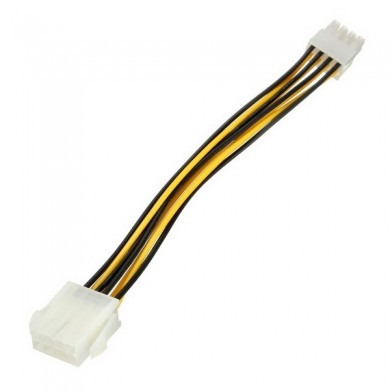 PC Motherboard 8 Pins Power Extension Power Adapter Cable Lead Wire