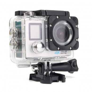 2.0 Inch LCD 16MP Ultra HD Dual Screen WiFi CAM Action DV Waterproof Sports Camera