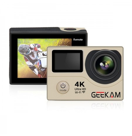 GEEKAM H3R Impermeable 4K wifi Ultra HD 30M Video Deportivo Acción Cámara