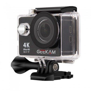 GEEKAM H9R Waterproof Ultra Hd 4K WiFi Actioncamera
