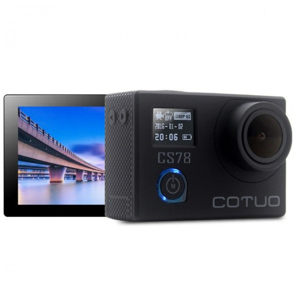 COTUO CS78 Notavek 96658 HD 30m Impermeable 2.0 Inch Pantalla 1080p 30fps 16MP Action Sport Cameraera
