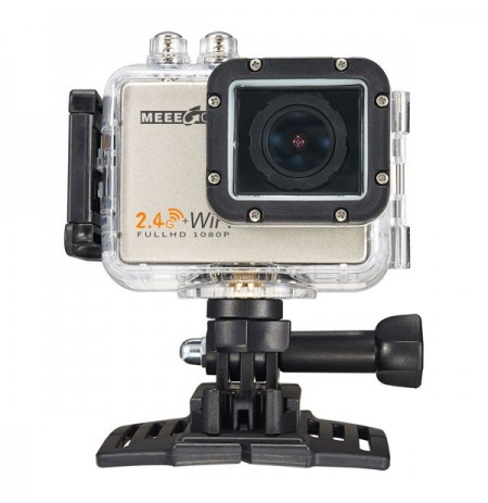 Meeegou Mee Plus 5 12MP 170 Degree Wide Angle 4K 1080P 60FPS HD Sport Action Camera Built-in Mic