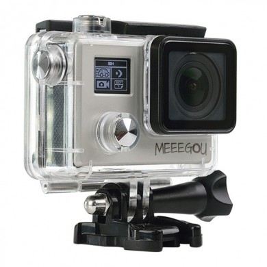 Meeegou M8 16MP 4K Novatek 96660 HD Dual Screen Digital Sport Action Camera