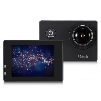 Meeegou M6 12MP 2.0 Inch Screen 1080P HD WIFI 170 Degree Wide Angle Sport Action Camera