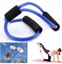 3X Yoga-Widerstand Bands Rohr Fitness Muskeltraining Übung Rohre 8 Art blau