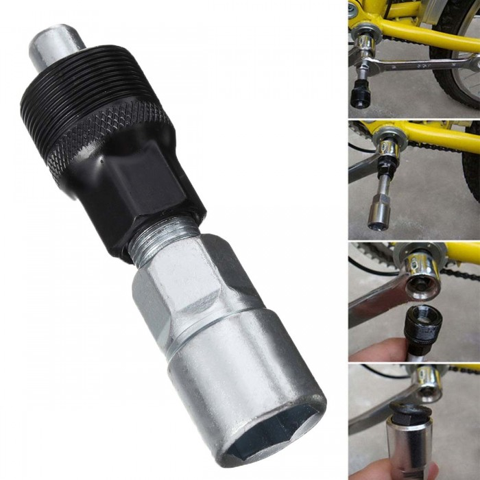 Crank Puller Bicycle Disassembly Tool Bike Repair Road Bottom Bracket Remover