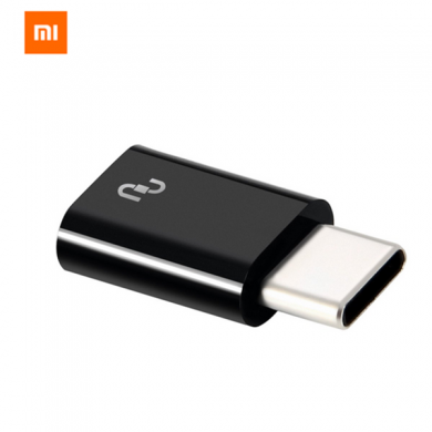 Original Xiaomi USB Type-C Male to Micro USB Female Adapter for Xiaomi 6 Samsung S8
