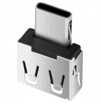 DM Type-C Adaptador USB C Male to USB2.0 Femail USB OTG Convertidor para la interfaz de Type-C