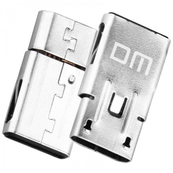 DM Adapter Micro USB Female to Type C Male Charging Connector For Mac Huawei Xiaomi 6 Samsung S8