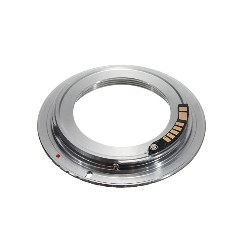 AF Confirm M42 Lens To Canon EOS EF Silver Adapter 60D 50D 40D 550D фото
