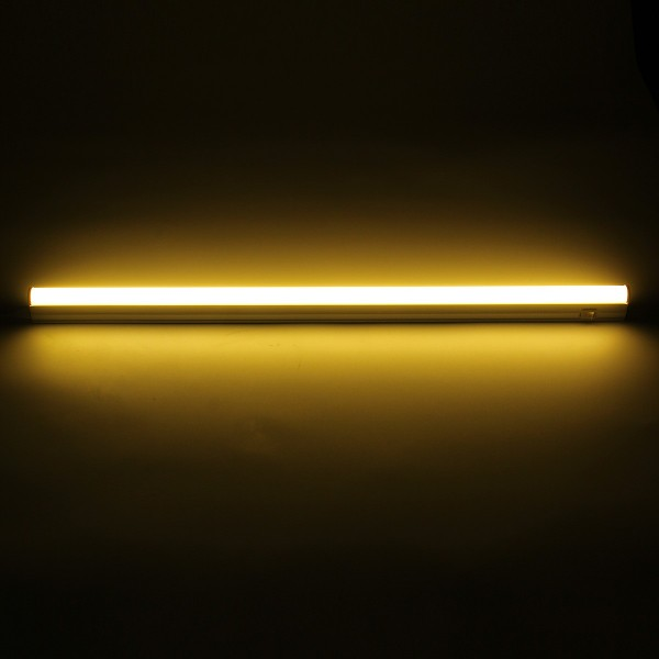 56.8CM 9W 800LM SMD2835 T5 LED Fluorescent Tube Light with Switch AC85-265V