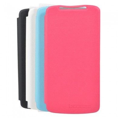 Litchi Grain Flip Leather Protective Case For DOOGEE DG330
