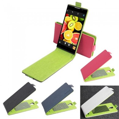 Up-down Flip PU Leather Case for DOOGEE DG2014