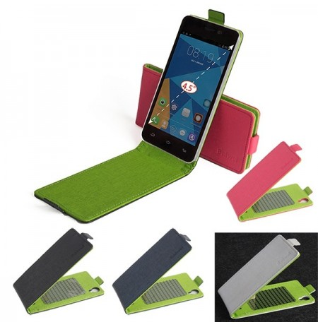 Up-down Flip PU Leather Case for DOOGEE DG800