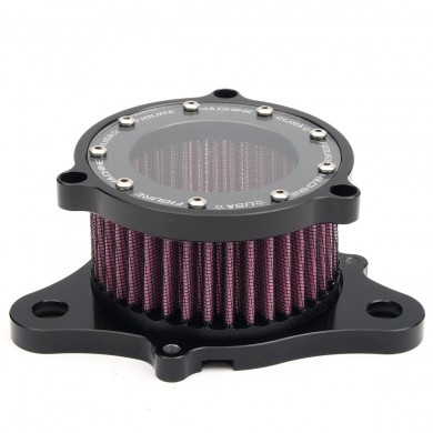 Air Cleaner Intake Filter Aluminum For Harley Davidson XL883 1200 2004-2015